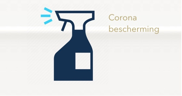 Corona beschermingsmiddelen
