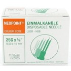 Neopoint Einmalkanüle 0,5 x 16 mm Box 100 Stck. (Orange)