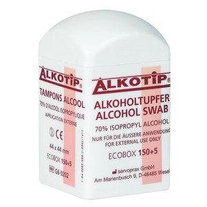 Alkotip Alkoholtupfer mit 70% Isopropylalkohol