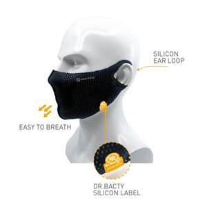 Inuteq Bequeme Mundmaske mit Kühlung!