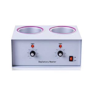 Ouleok Wax heater double 400 + 800ml made of steel