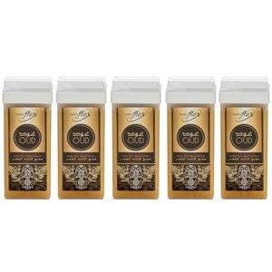 ItalWax 5 x Harspatroon Flex Arabisch 100ml met OUD aroma   voordeelset