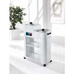 Xanitalia Trolley for epilation tools two shelves