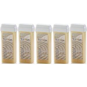 ItalWax 5x Zinc  wax cartridges 100 ml