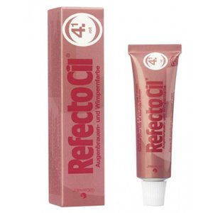 Refectocil Wimpern und Augenbrauen rote Farbe 15 gr (4.1)