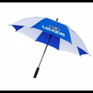 U.S. Kids Golf Regenschirm blau/weiss