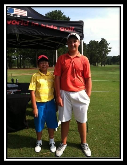 US Kids Golfschläger Fitting