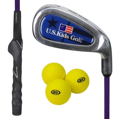 U.S. Kids Golf Yard Club RS 54 Set inkl. 3 Softbällen