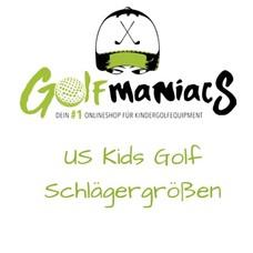 US Kids Golf Größentabelle