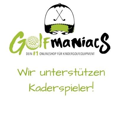 Golfmaniacs unterstützt Kaderspieler
