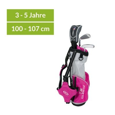 U.S. Kids Golf Ultralight 39 - Komplett Set - Pink