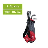U.S. Kids Golf Ultralight 39 - 3 Schläger-Carry-Bag-Set rot