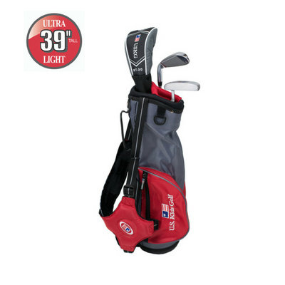 U.S. Kids Golf Ultralight - 3 Schläger-Carry-Bag-Set