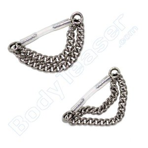 Intimate Piercing Jewelery Chains, Surgical Steel