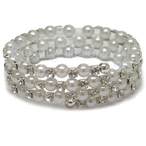 Sexy Pearl Armlet, one-size-fits-all