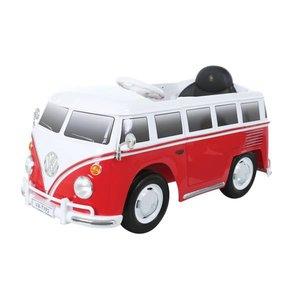 E-Car VW Bus Rood met afstandsbediening