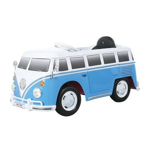Accu-auto VW Bus Blauw met afstandsbediening