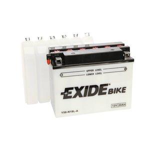 Exide motoraccu Y50-N18L-A (E50-N18L-A) traditioneel