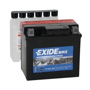 Exide motoraccu YTX5L-BS (ETX5L-B) onderhoudsvrij