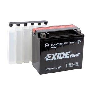 Exide motoraccu YTX20HL-BS (ETX20HL-BS) onderhoudsvrij