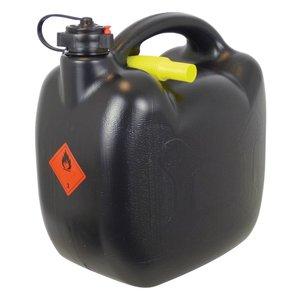 Carpoint benzinekan 10 liter zwart, 580 gr. UN/BAM
