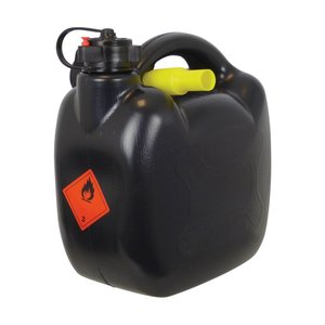 Carpoint benzinekan 5 liter zwart, 420 gr. UN/BAM