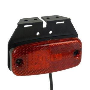 Carpoint zijlamp rood Led 9-32V