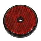 Carpoint reflectoren rond 70mm rood 2st