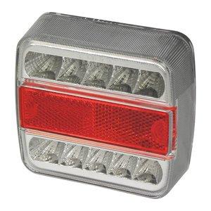 Carpoint achterlicht 5 functies 10 LED 100x10x37mm