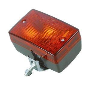 Carpoint mistachterlicht met beugel 80x120mm 12V e2-173