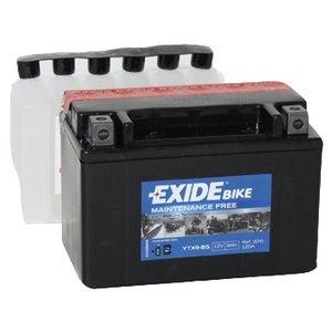 Exide onderhoudsvrije Honda CBR600F accu YTX9-BS (ETX9-BS)