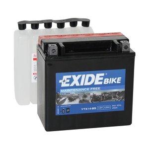 Exide onderhoudsvrije Honda VT1100 (ETX14-BS) accu YTX14-BS