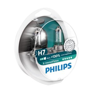 Philips H7 X-treme Vision 12972XVS2