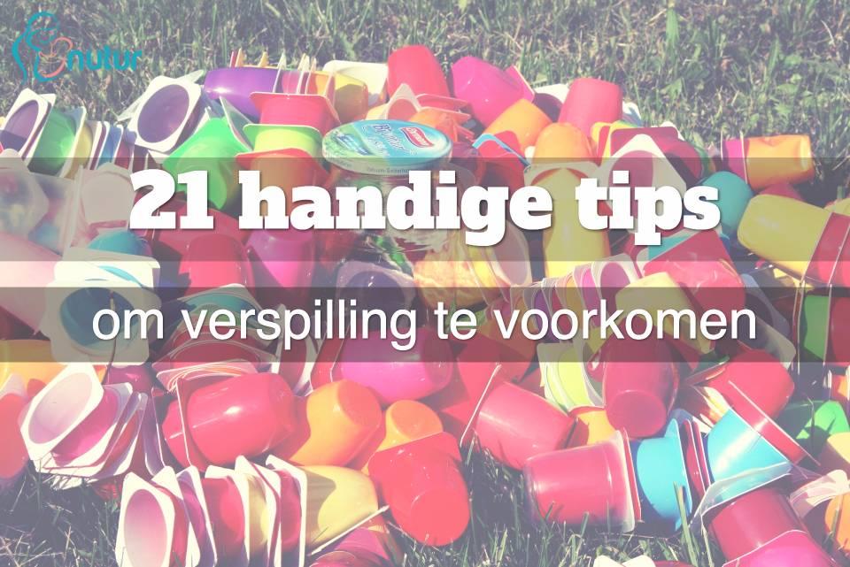 Wegwerpmaatschappij: 21 handige tips om verspilling te voorkomen