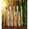 Humble Brush Humble Brush Bamboe Tandenborstel voor volwassenen - wit, geel, blauw, roze of zwart