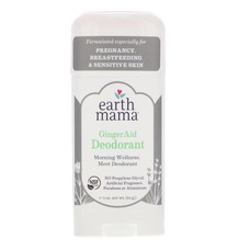 Earth Mama Angel Baby Earth Mama  Ginger Aid deodorant