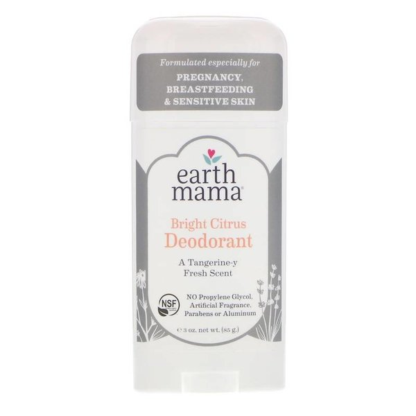 Earth Mama Angel Baby Earth Mama  Organics Bright Citrus deodorant