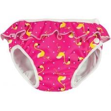 ImseVimse wasbare Zwemluier - Pink Flamingo - M 7-10 kg - roze - meisje