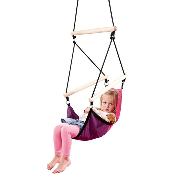 Kinderhangstoel Kids Swinger Roze/Paars