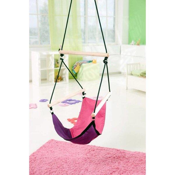 f44213387a4 Kinderhangstoel Kids Swinger Roze/Paars - Nutur.nl
