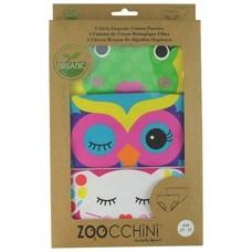 Zoocchini Zoocchini Meisjes slipjes Bio Katoen (3-pack)