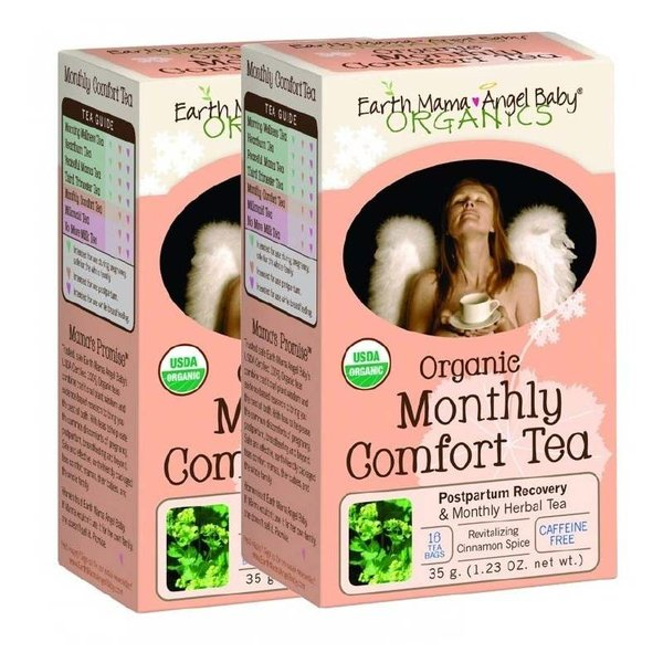 Earth Mama Organic Vrouwen Thee (herstel na bevalling & menstruatie) 2 doosjes