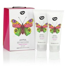 Green People Joyful Kadoset (luxe body wash & body lotion)