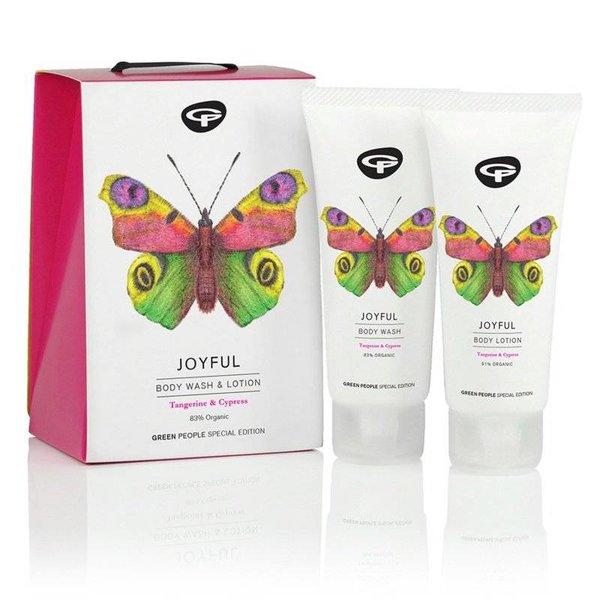 Green People Joyful Kadoset (luxe body wash & body lotion)