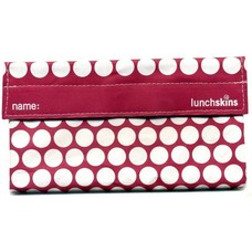 Lunchskins Berry Dot Snack Bag