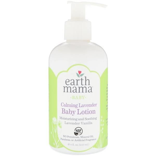 Earth Mama Angel Baby Earth Mama Organics  Hydraterende Baby Lotion