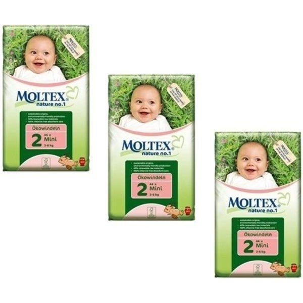 Moltex  Moltex Nature Luiers (mini 3-6 kg) 3-pak