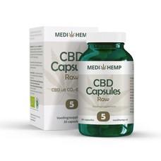 Medihemp Medihemp 5% CBD Capsules RAW (30 capsules)