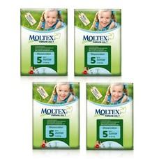 Moltex  Moltex Nature Luiers (junior 11-25kg) Voordeelpak 4xpak