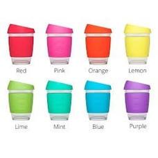 JOCO JOCO Herbruikbare Glazen Cup (340ml, in verschillende kleuren)